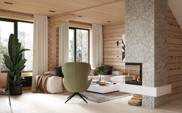 Modern Rustic Cabin With Cosy Small Room Ideas | Free ...