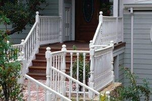 2020 Cost To Build Or Remodel A Staircase Homeadvisor | Building A Stair Rail | Craftsman Style | White | Horizontal | Glass | Inexpensive