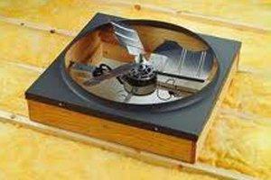 attic fan replacement repair costs