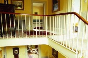 2020 Staircase Repair Costs Cost To Refinish Stairs Railings | Stair Railing Cost Per Linear Foot | Rod Railing | Stair Case | Pressure Treated | Average Cost | Wrought Iron Railings