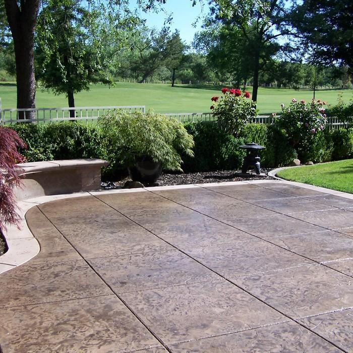 2017 Concrete Patio Cost Calculator - Average Cost to Pour ... on Backyard Patio Cost id=68108