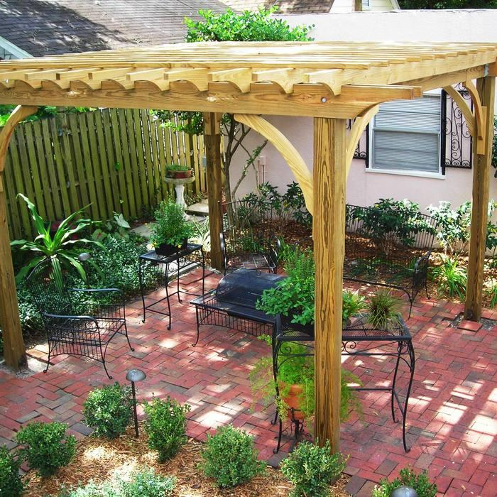 6 Brilliant and Inexpensive Patio Ideas for Small Yards ... on Diy Backyard Patio Cheap  id=21063