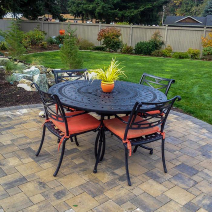 2020 Paver Costs | Price to Install Brick Patio - HomeAdvisor on Square Concrete Patio Ideas id=40832