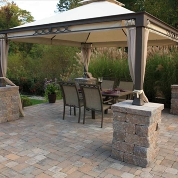 2020 Paver Costs | Price to Install Brick Patio - HomeAdvisor on Square Concrete Patio Ideas id=53810