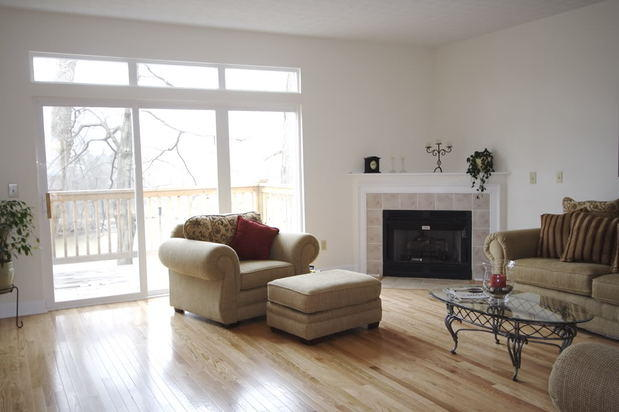 Casual / Comfortable Living Room in New Providence   by ... on Fireplace Casual Living id=58165