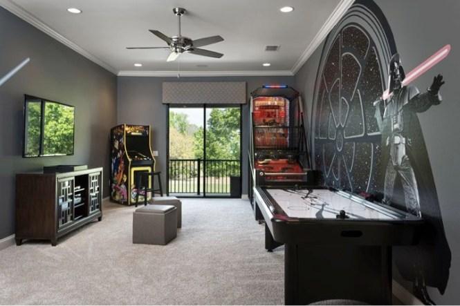 Cool Star Wars Bedroom Decor Theme Furniture Ideas For Kids. Star Wars Room Decorations   Decorating Ideas