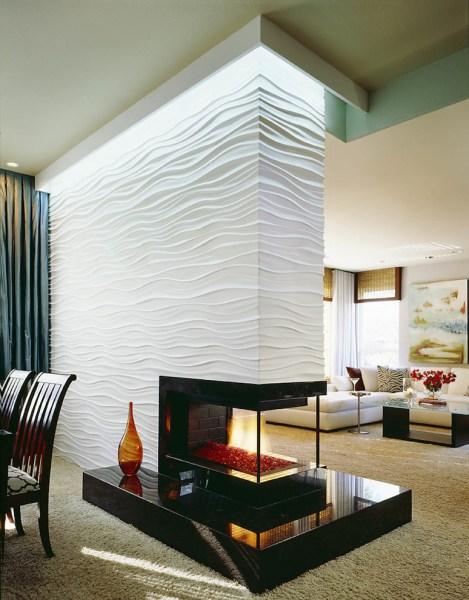 modern fireplace design ideas 16 Unique Modern Fireplace Design Ideas - Style Motivation