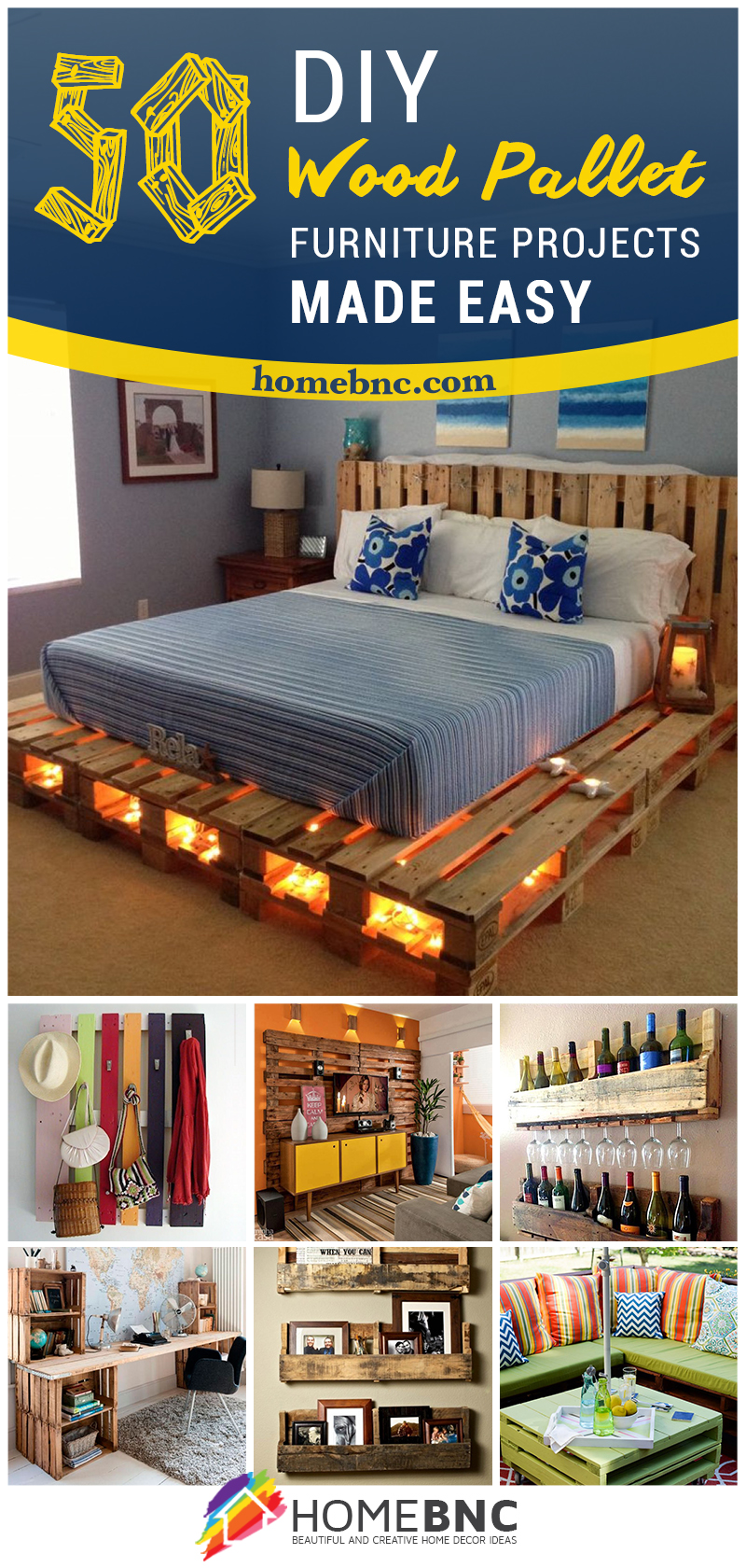 50 Best Creative Pallet Furniture Design Ideas for 2017 on Pallet Design  id=36185
