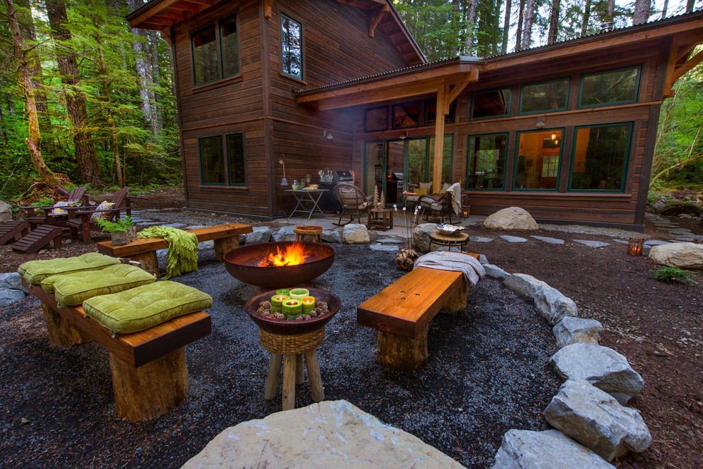 50 Best Outdoor Fire Pit Design Ideas for 2017 on Backyard Patio Designs With Fire Pit  id=23718