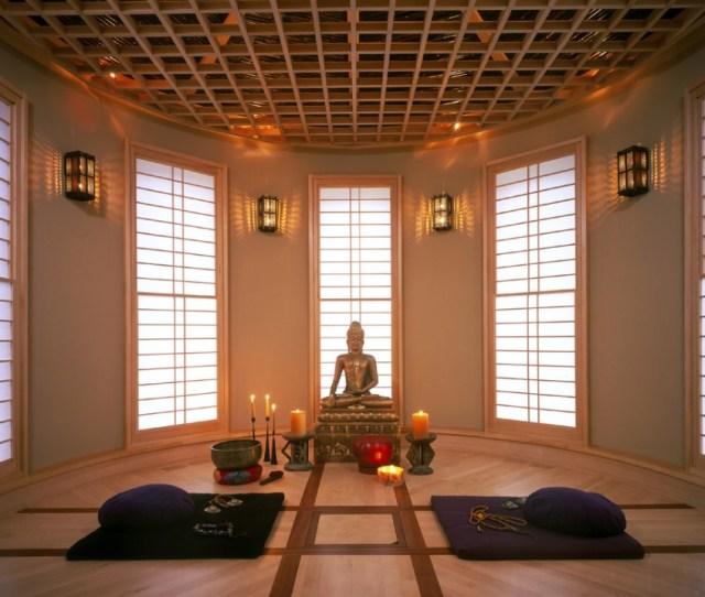 Zene  Beautiful Meditation Room Design Ideas