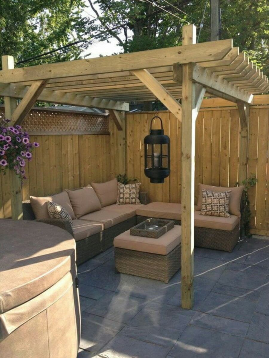 Backyard Landscape: 16 Amazing DIY Patio Decoration Ideas ... on Diy Back Patio Ideas id=31635
