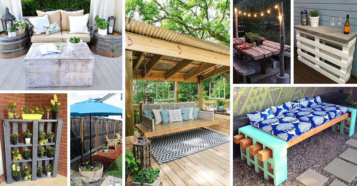 25 Best DIY Patio Decoration Ideas and Designs for 2017 on Diy Back Patio Ideas id=71980