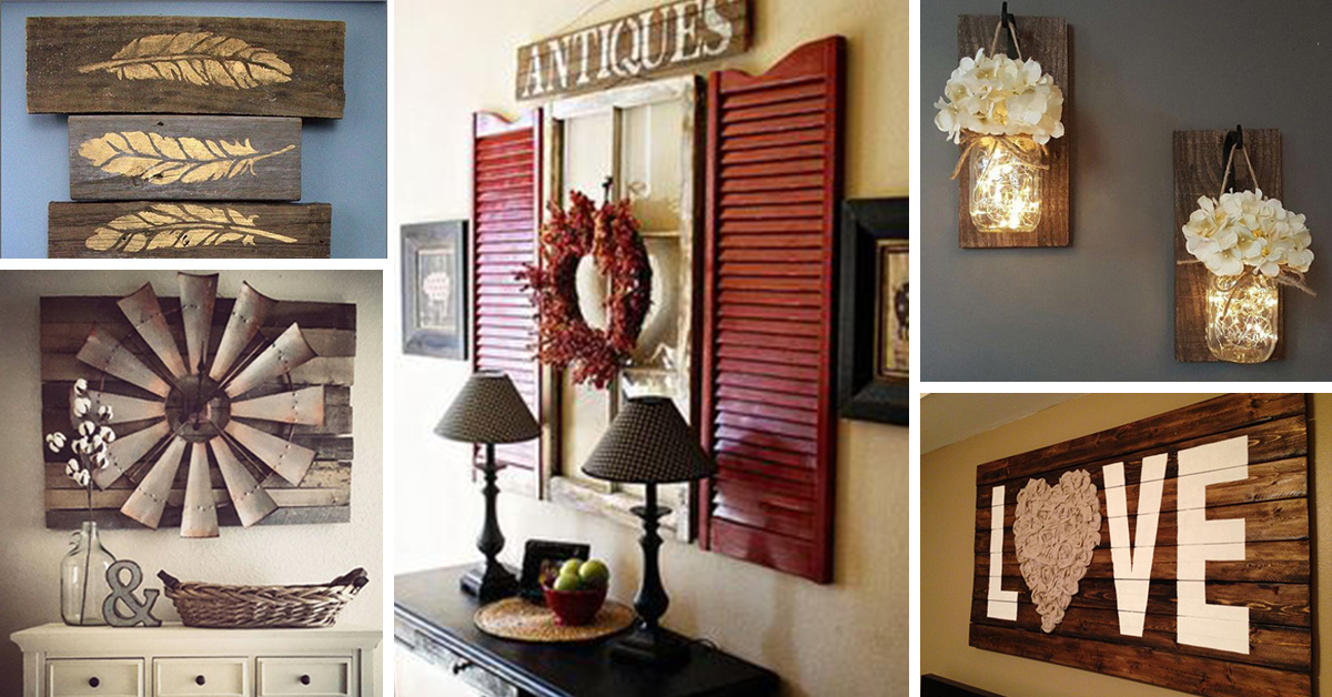 27 Best Rustic Wall Decor Ideas And Designs For 2017