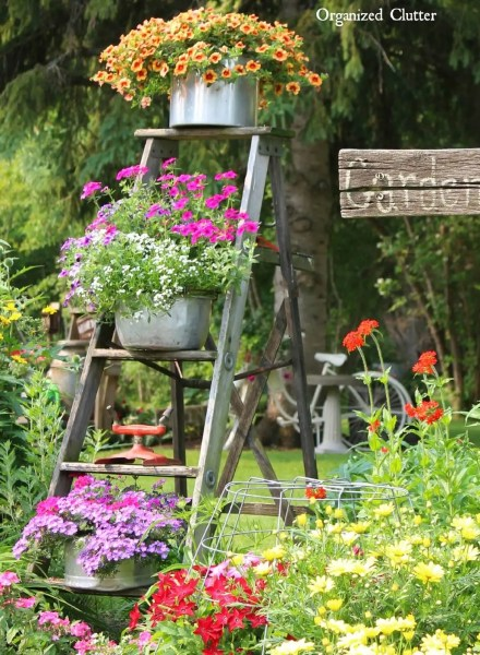 flower garden ideas and decorations 34 Best Vintage Garden Decor Ideas and Designs for 2017