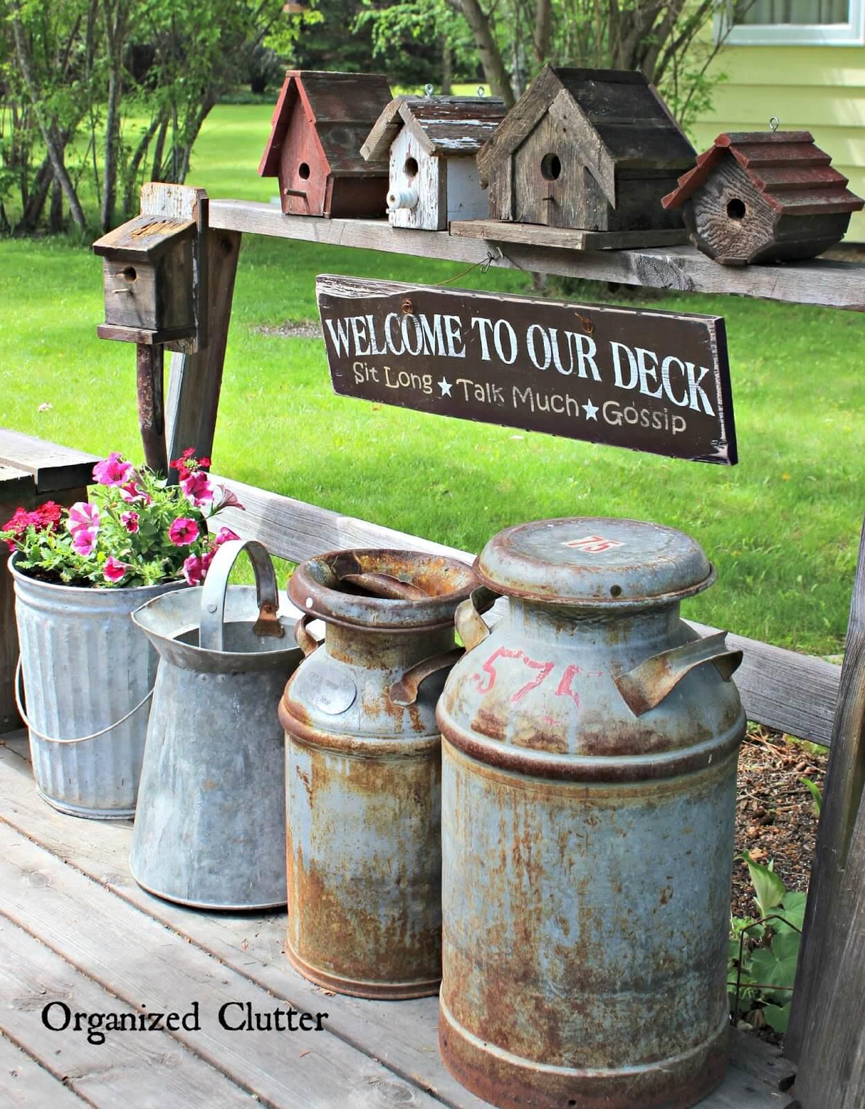 34 Best Vintage Garden Decor Ideas and Designs for 2017 on Backyard Decor Ideas  id=95626