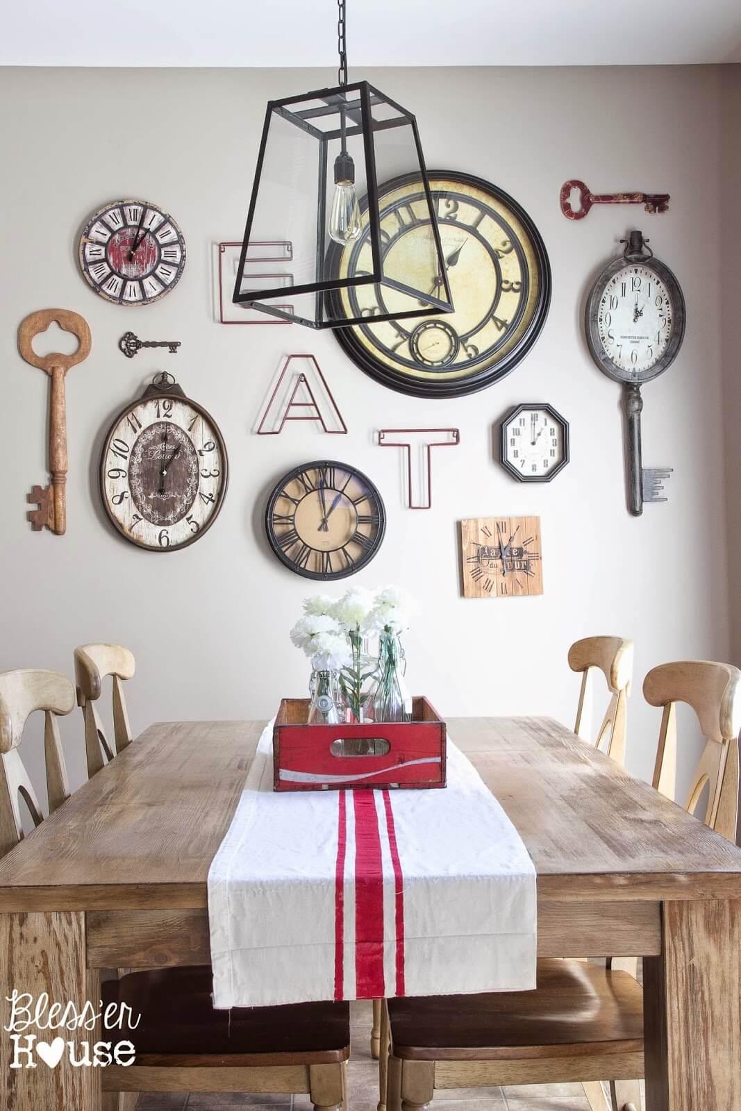 37 Best Farmhouse Dining Room Design and Decor Ideas for 2017 on Dining Room Curtains Farmhouse  id=86982