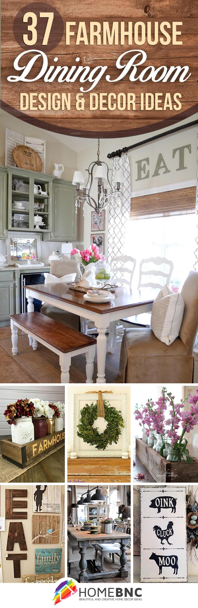 37 Best Farmhouse Dining Room Design and Decor Ideas for 2017 on Dining Room Curtains Farmhouse  id=14321