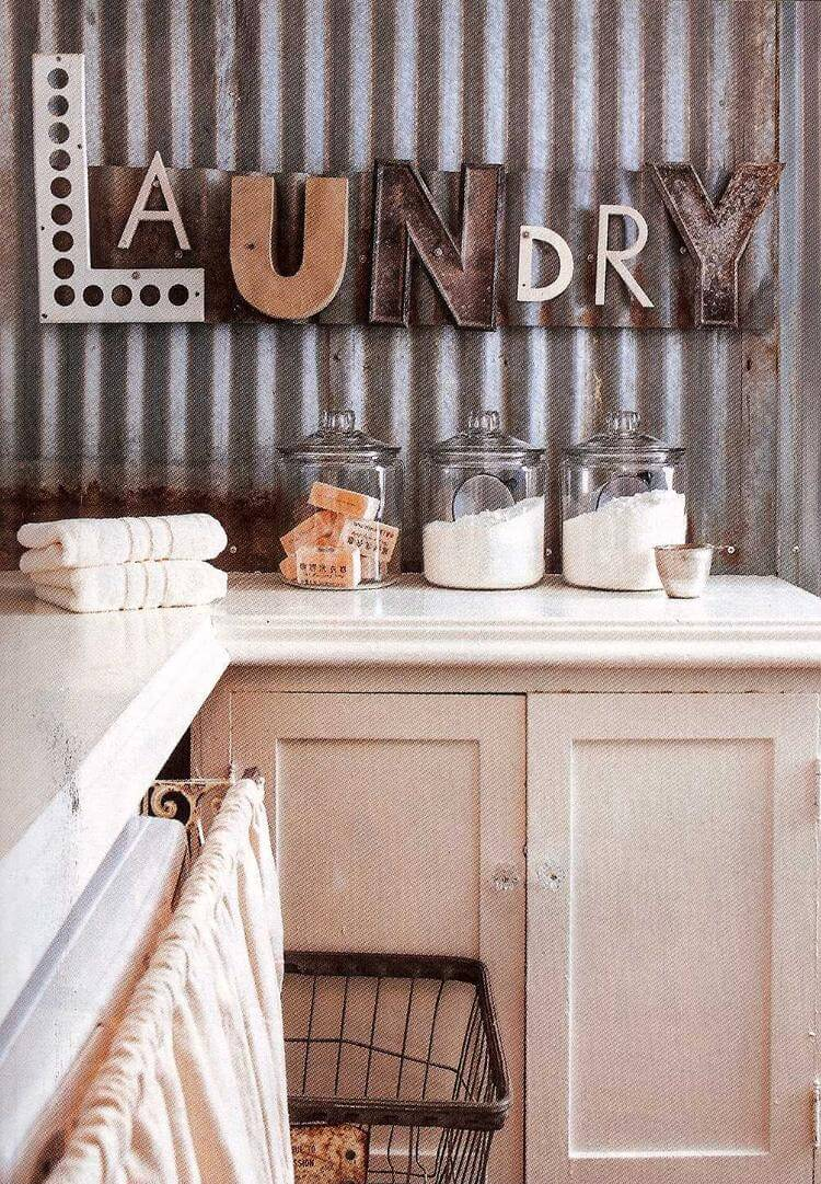 25 Best Vintage Laundry Room Decor Ideas and Designs for 2017 on Laundry Decorating Ideas  id=46434