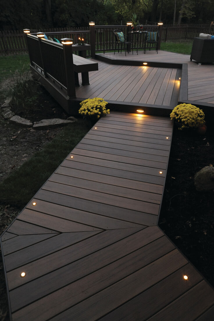 25 Best Garden Path and Walkway Ideas and Designs for 2017 on Backyard Walkway Ideas id=21123