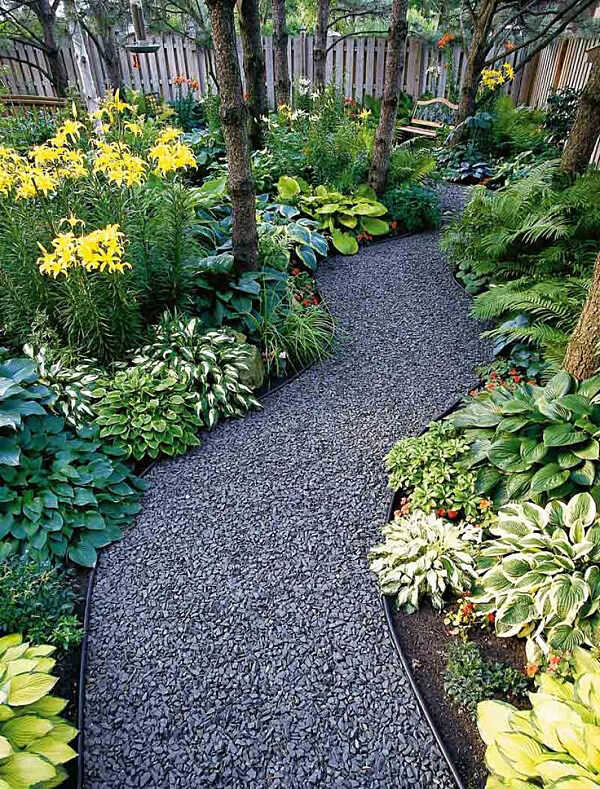 25 Best Garden Path and Walkway Ideas and Designs for 2017 on Backyard Walkway Ideas id=24103