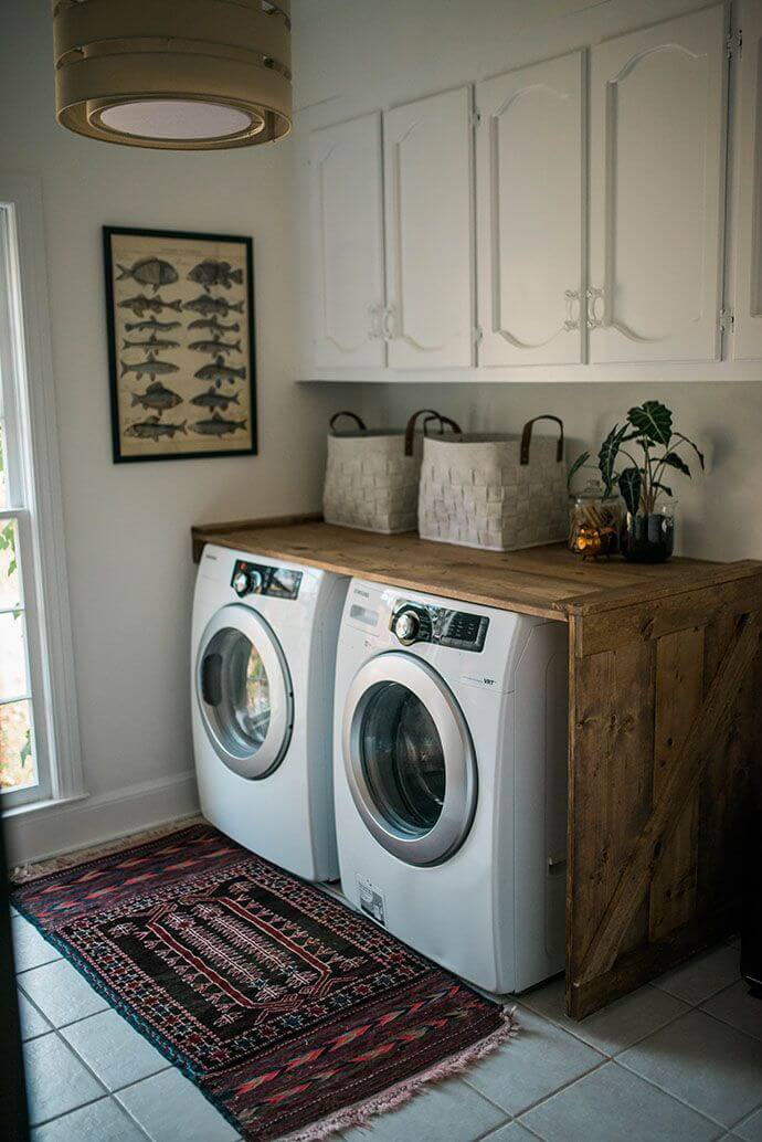 25 Best Vintage Laundry Room Decor Ideas and Designs for 2017 on Laundry Room Decor Ideas  id=61338