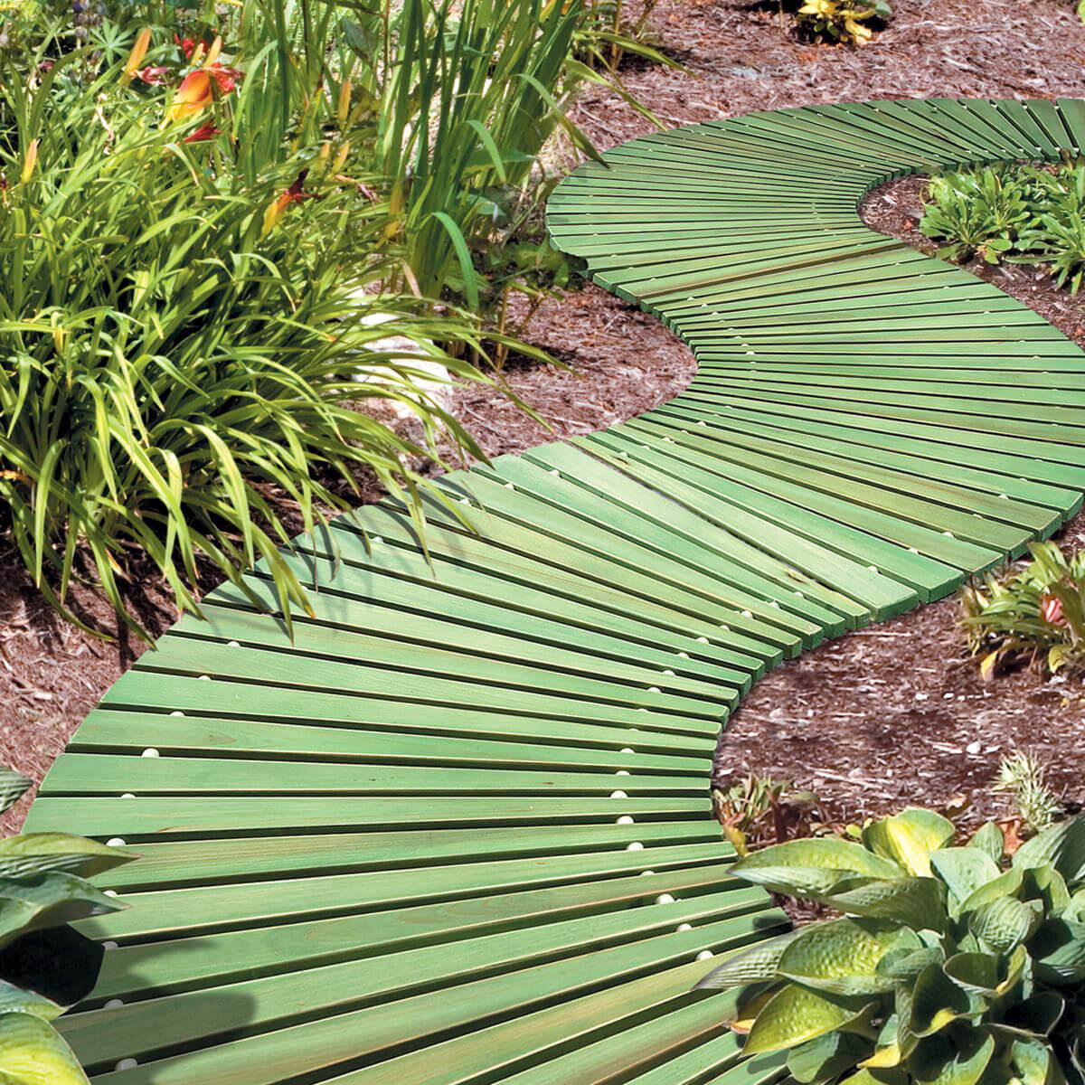 16 Design Ideas for Beautiful Garden Paths - Style Motivation on Patio And Path Ideas  id=37275