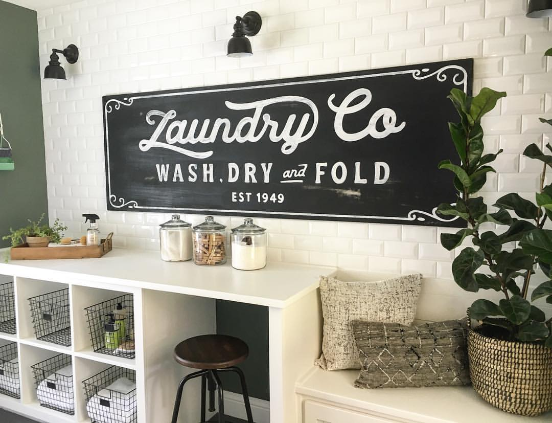 25 Best Vintage Laundry Room Decor Ideas and Designs for 2017 on Laundry Decoration  id=47098