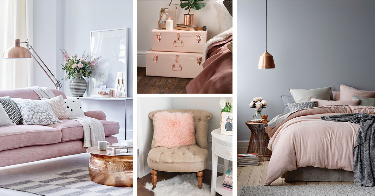 We may earn commission from links on this page, but we only recommend products we back. 23 Best Copper and Blush Home Decor Ideas and Designs for 2017