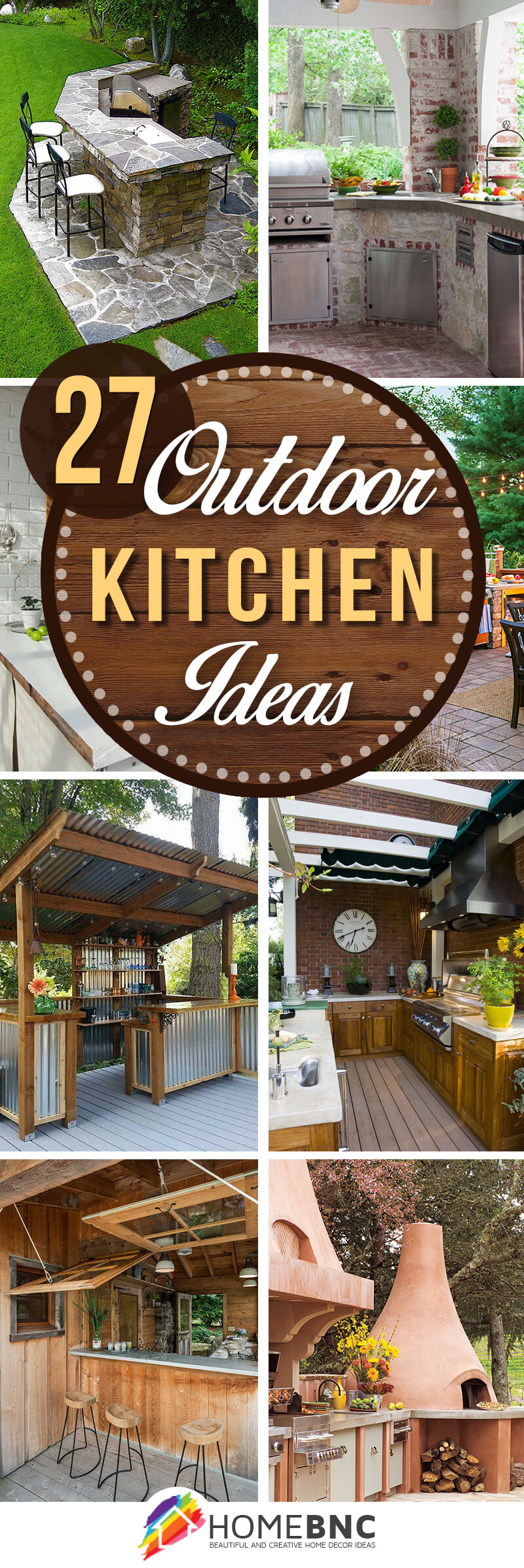 27 Best Outdoor Kitchen Ideas and Designs for 2017 on Backyard Kitchen Design id=77859