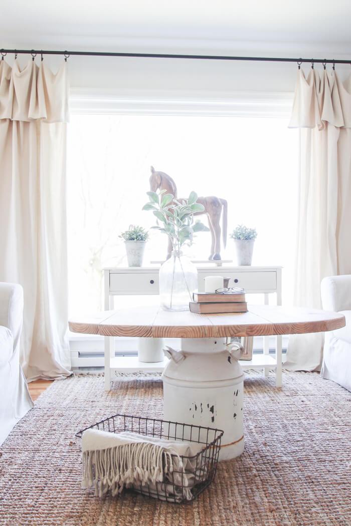 35 Best Farmhouse Living Room Decor Ideas and Designs for 2017 on Farmhouse Style Living Room Curtains  id=75786