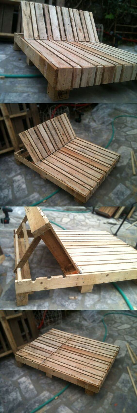 27 Best Outdoor Pallet Furniture Ideas and Designs for 2017 on Pallet Design Ideas  id=56198