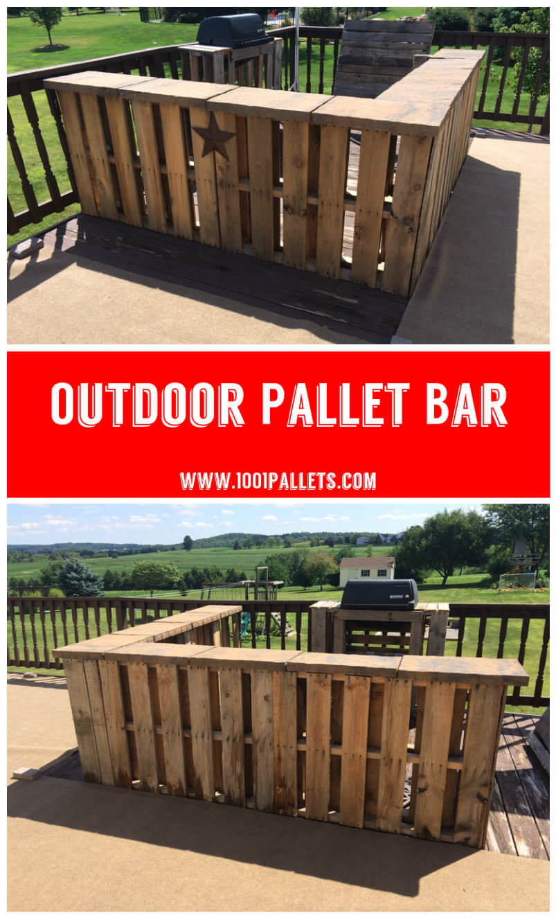 32 Best DIY Outdoor Bar Ideas and Designs for 2017 on Patio With Bar Ideas id=55261
