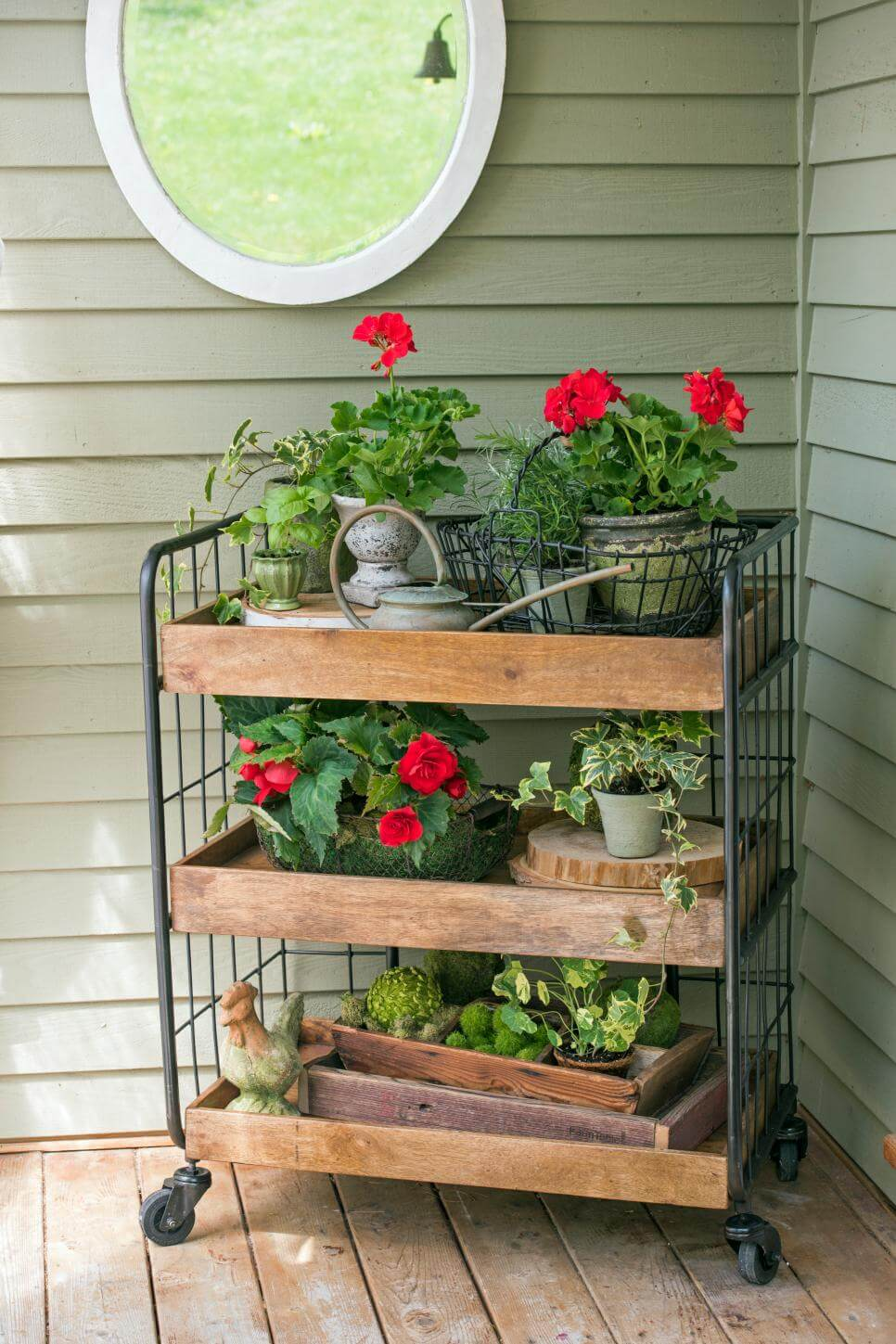 47 Best Rustic Farmhouse Porch Decor Ideas and Designs for ... on Outdoor Deck Patio Ideas id=64843