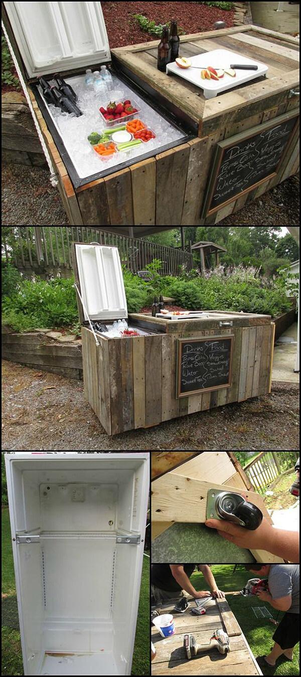 32 Best DIY Outdoor Bar Ideas and Designs for 2017 on Diy Garden Patio Ideas id=53049