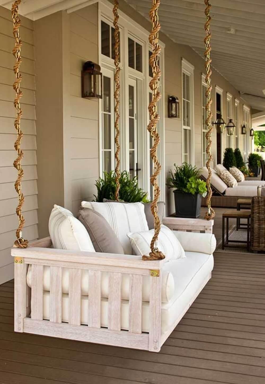 47 Best Rustic Farmhouse Porch Decor Ideas and Designs for ...