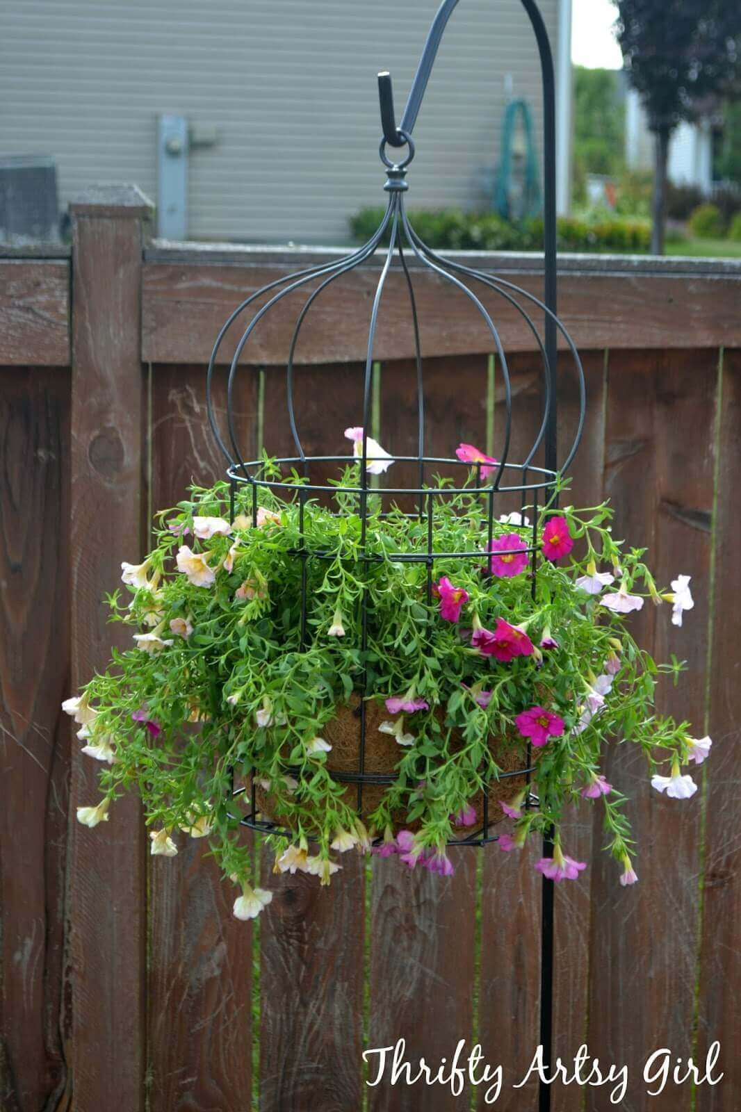 45 Best Outdoor Hanging Planter Ideas and Designs for 2017 on Tree Planting Ideas For Backyard id=78507