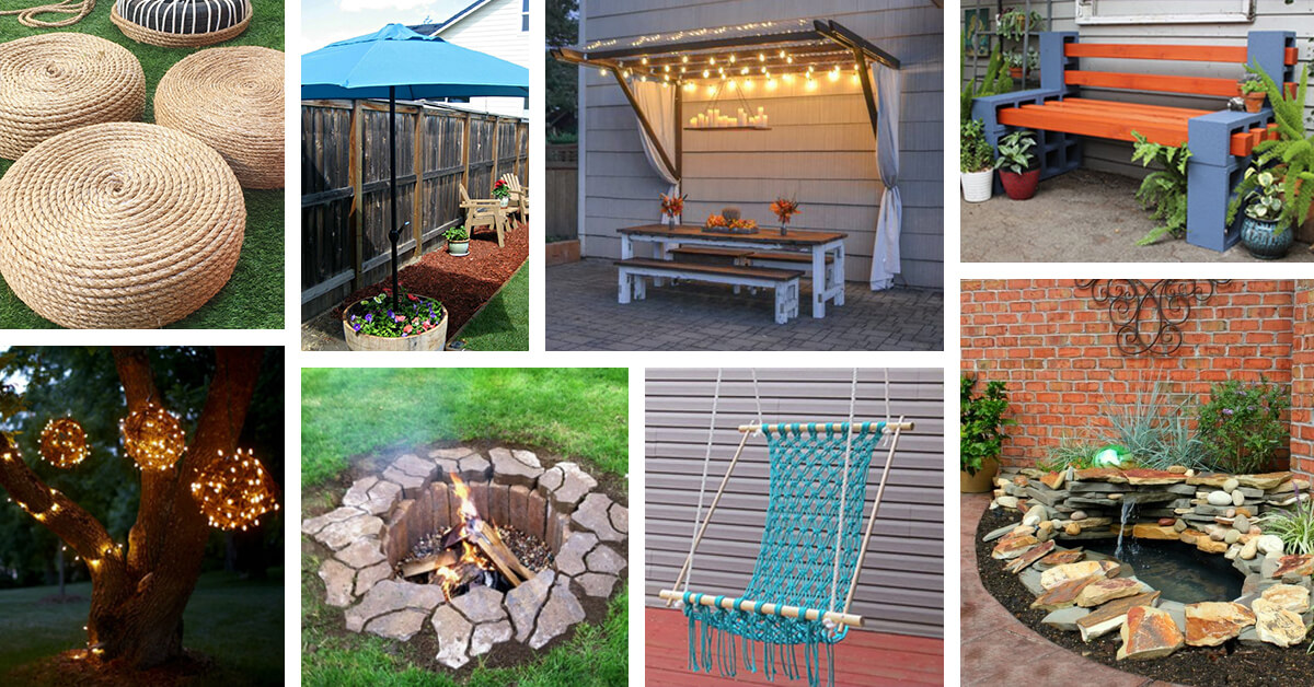 42 Best DIY Backyard Projects (Ideas and Designs) for 2017 on Diy Backyard Remodel  id=76652