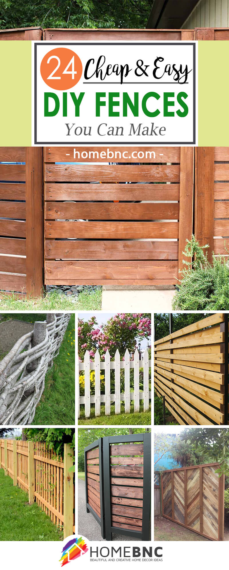 24 Best DIY Fence Decor Ideas and Designs for 2017 on Decorations For Privacy Fence id=72735