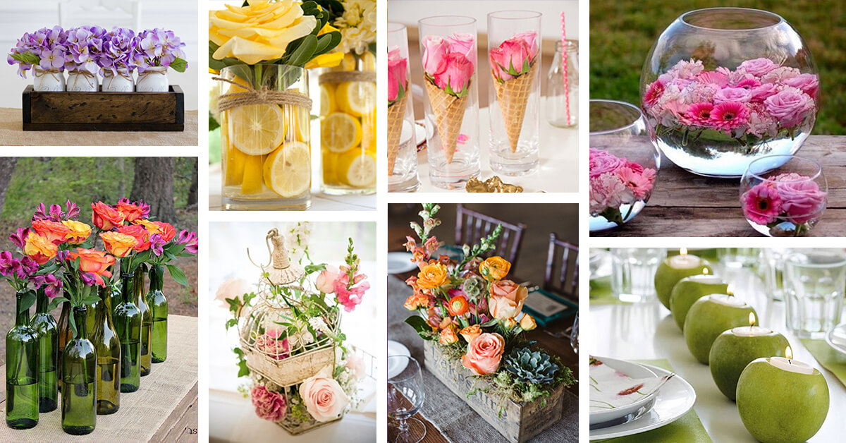 35+ Best Summer Table Decoration Ideas And Designs For 2017