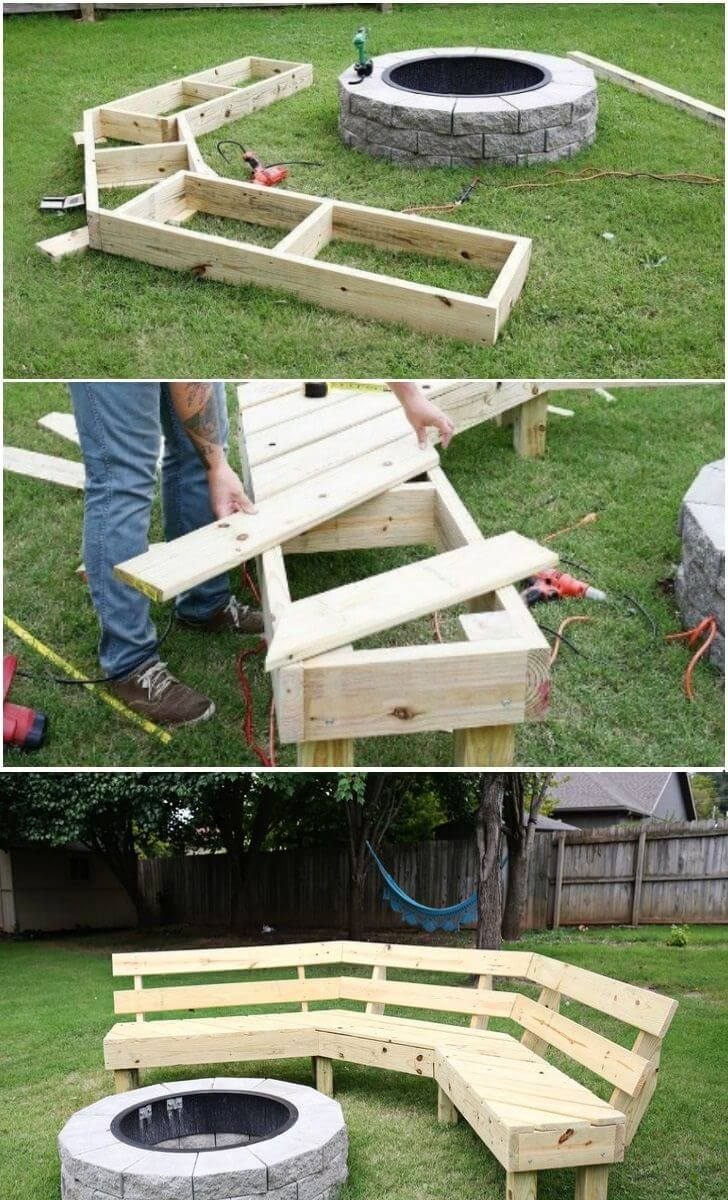 29 Best DIY Outdoor Furniture Projects (Ideas and Designs ... on Diy Garden Patio Ideas id=81795