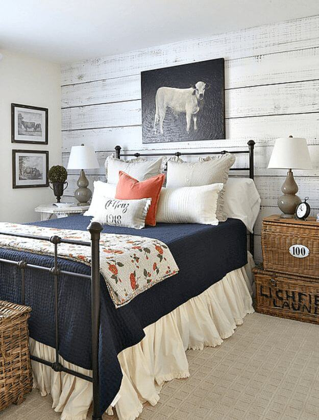 39 Best Farmhouse Bedroom Design and Decor Ideas for 2017 on Bedroom Farmhouse Decor  id=23618