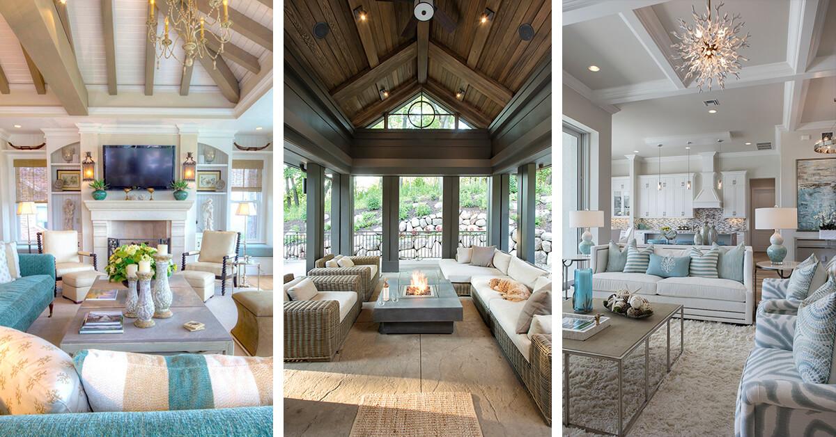 32 Best Beach House Interior Design Ideas and Decorations ... on House Interior Ideas  id=51589