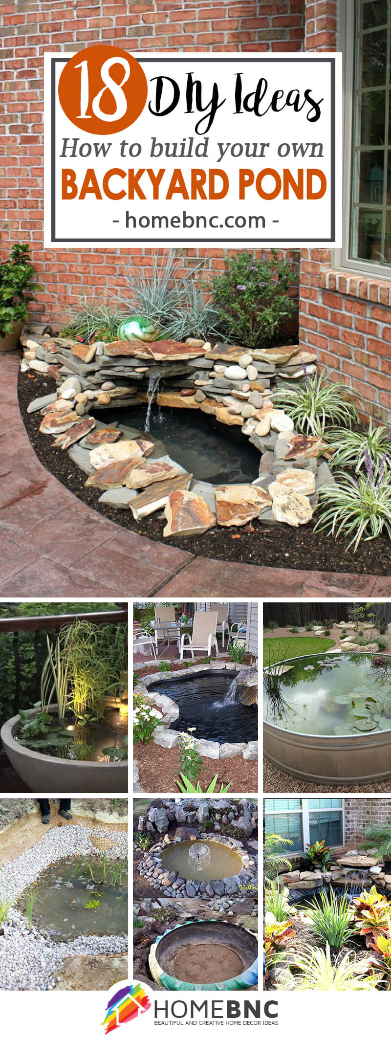18 Best DIY Backyard Pond Ideas and Designs for 2017 on Pond Ideas Backyard id=80086