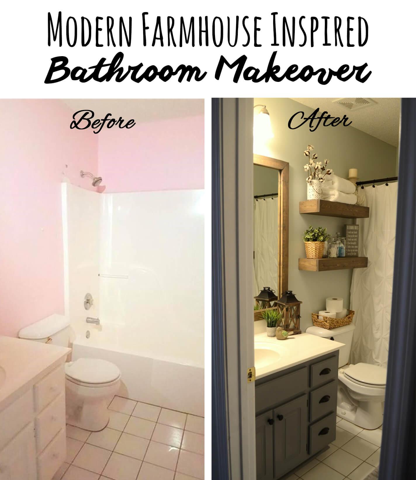 28 Best Budget Friendly Bathroom Makeover Ideas and ... on Bathroom Ideas On A Budget  id=52118