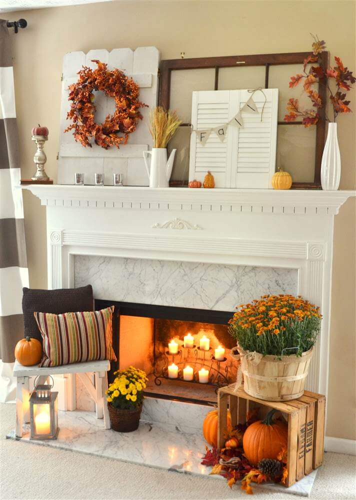 29 Best Farmhouse Fall Decorating Ideas and Designs for 2017 on Farmhouse Decorating Ideas  id=78549