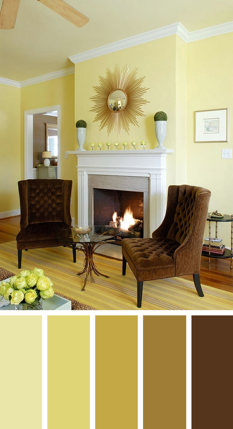 11 Best Living Room Color Scheme Ideas and Designs for 2017 on Colourful Living Room  id=49546