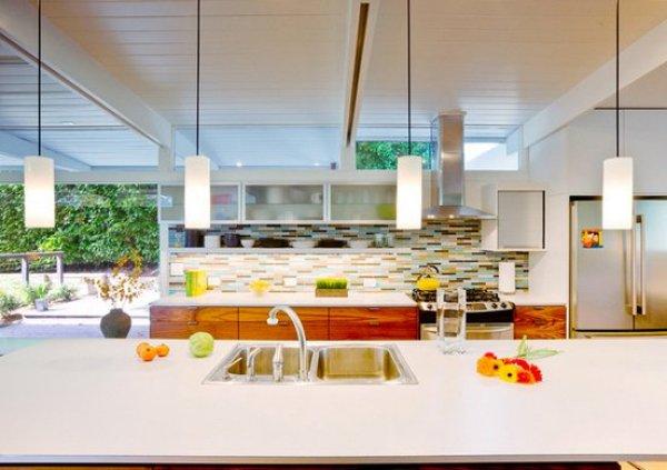 updating a mid century modern kitchen