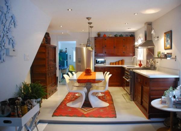 new mid century modern kitchen