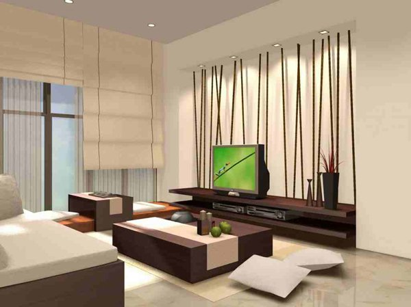 japanese themed living room