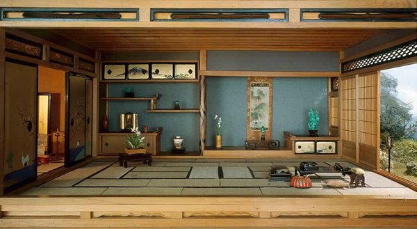 japanese tatami living room